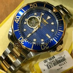 1 LEFT IN STOCK-New Invicta Automatic men's watch